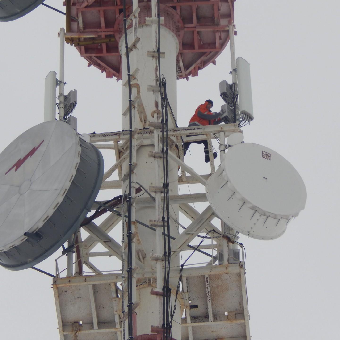 <br> <br> Обслуживание радио-релейных линий связи