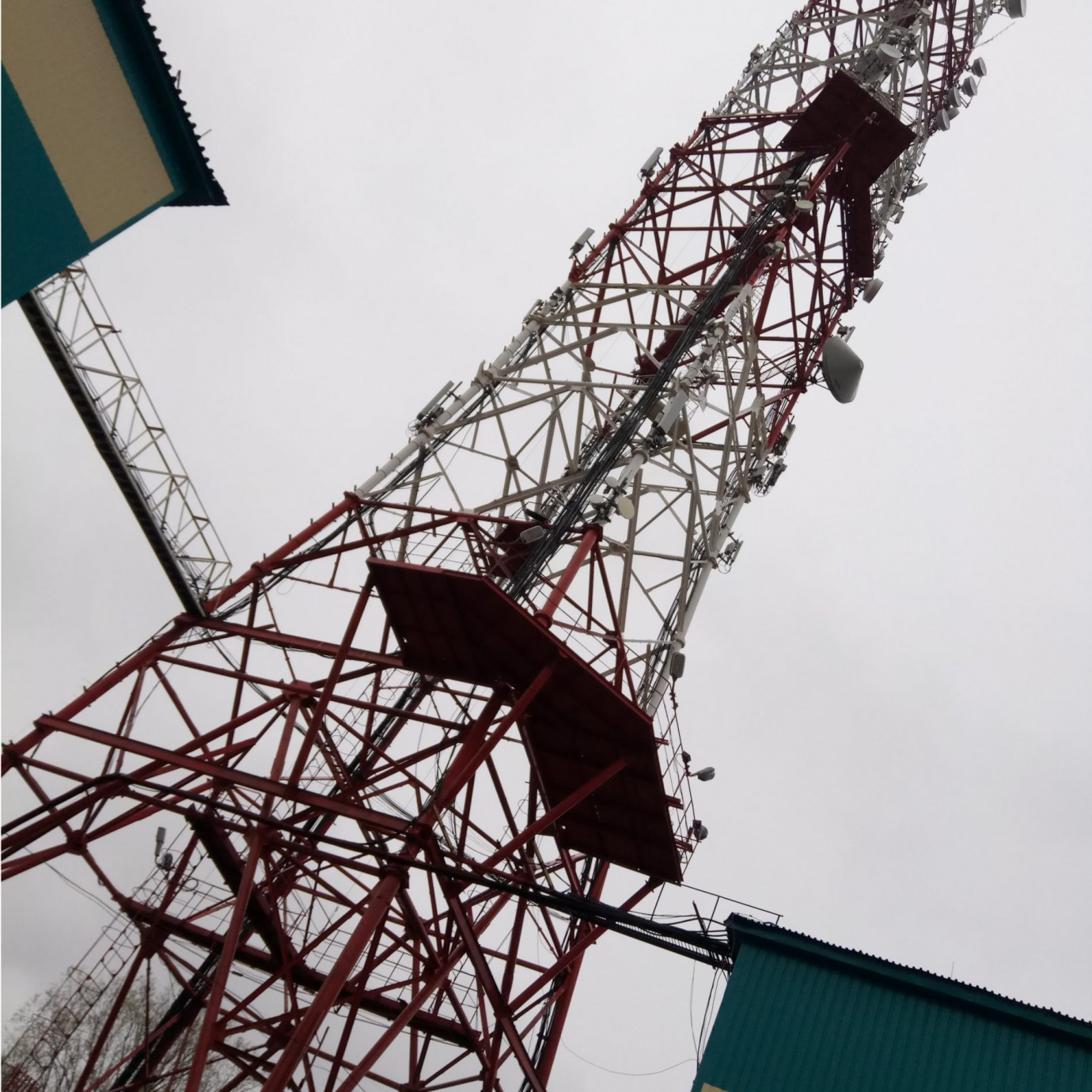 Техническое обслуживание антенно-мачтовых сооружений