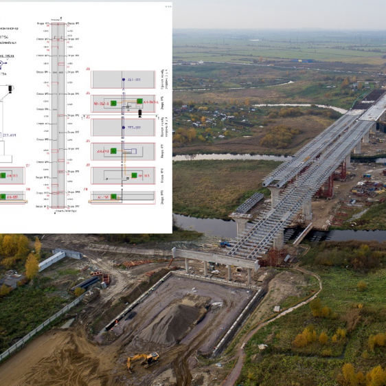 <br> <br> Мост через реку Ижора, <br> трасса М11
